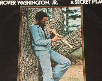 A Secret Place Vinyl Record, Grover Washington Jr record album, vintage vinyl record