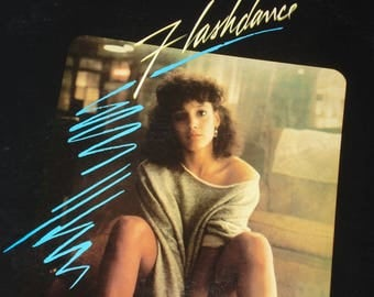 Vinyl Record, Flashdance soundtrack vinyl record album