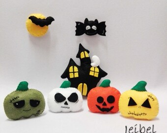 Kit Halloween ornaments