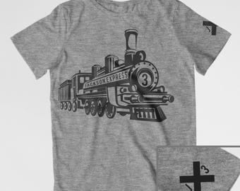 Train birthday shirt toddler train theme train conductor shirt Toddler birthday train party