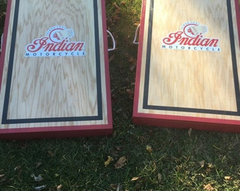 Indian Motorcycle Cornhole  Boards