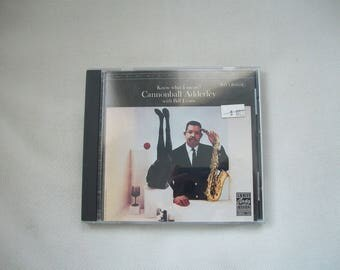 """Cannonball Adderley With Bill Evans """"Know What I Mean?' CD"""