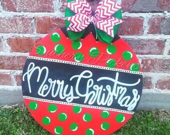 Christmas Ornamemt Door Hanger