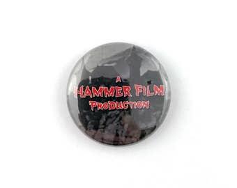 """Hammer Horror - 1"""" Button Pin"""