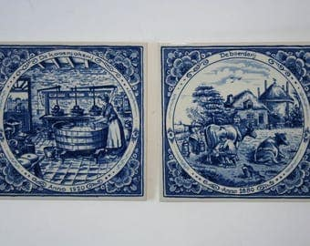 Dutch Blue Tiles / delft blue / decorative Tiles from the Netherlands