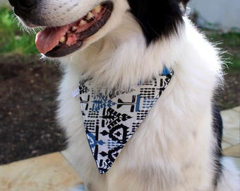 Bandana for dog - special medal - closing pressure