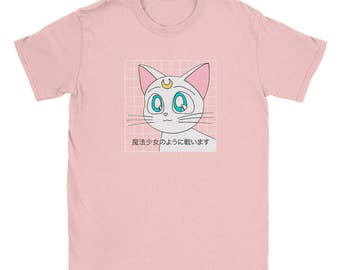 Kawaii Anime Cat Shirt