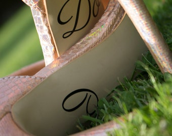 I do wedding shoe decals - style 4