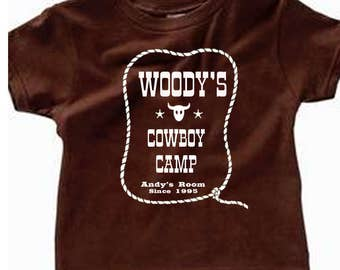 Toddler Disney Shirts Woodys Cowboy Camp Toy Story Shirts Pixar Shirts Disneyland Shirts Disney World Shirts Magic Kingdom Shirts