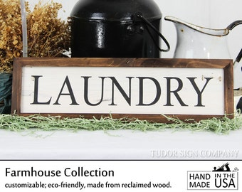 Rustic Laundry Room Sign Shiplap Laundry Sign Magnolia Farms Sign Farmhouse Decor French Country Cottage Chic Joanna Gaines Magnolia Market