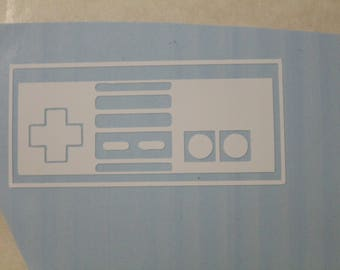 NES Controller Nintendo Decal Any Size Any Colors