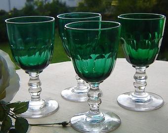 4 southern wine glass m of dark green Kuppa - Villeroy & Boch