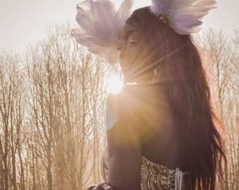 Olymp feather headdress