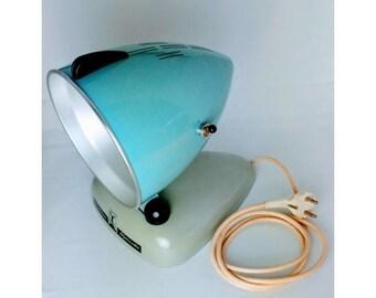 """Vintage 1950s deco object """"sun lamp"""", Alpinette (Honensonne by Hanau, Germany)"""
