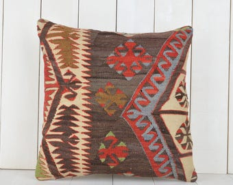 turkish kilim pillow 16 inch anatolian kilim pillow ethnic pillow decorative kilim pillow cover kilim pillow case bohemian kilim cushion