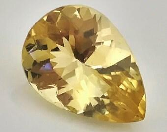 Sunshine yellow Scapolite 3.20cts VVS Sparkler