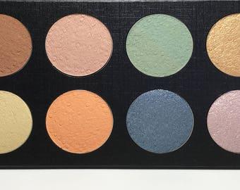 Vegan Eyeshadow-36 mm Palette Eyeshadow-Customizable Eyeshadow-12 Eyeshadow Pro Palette-Organic Eyeshadow Palette, Vegan Eyeshadow Palette