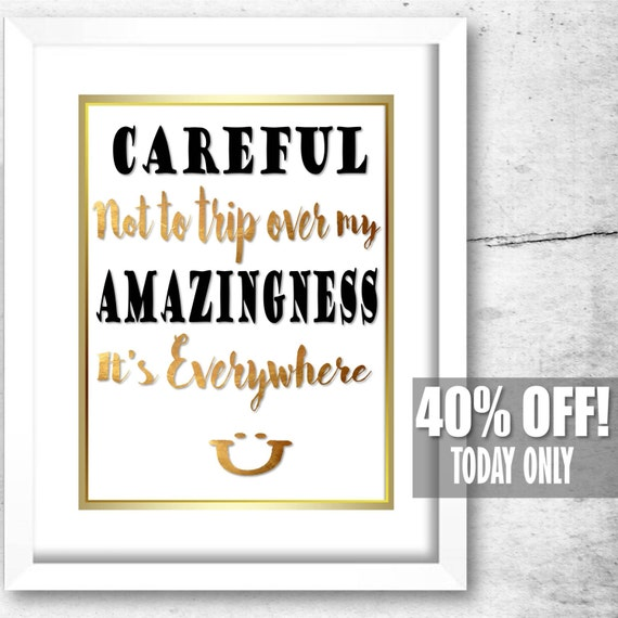 SALE Funny Home Decor Funny Prints Office Cubicle Decor