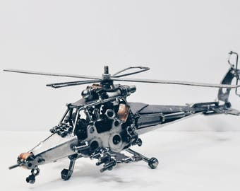 Vagabond of the sky apache helicopter