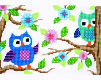 Vervaco Cross Stitch Rug Kit Owl Talk PN0153851