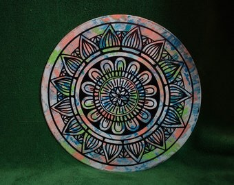 Vaughn- Painted Vinyl Record
