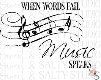 when words fail music speaks digital file