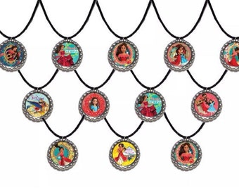 12x Disney Elena of Evalor inspired Party Favor Necklaces