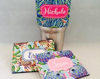 Yeti Hugger Wrap - Neoprene Stainless Steel Tumbler Wrap Tumbler Insulator Gifts for Her Holiday Stocking Stuffer Secret Santa Gifts