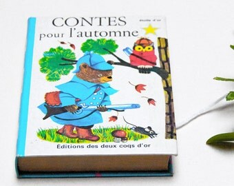 french Vintage Children's Book: Tales for autumn / Richard Scarry / K.Jackson (1967)