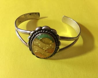Carolyn Pollack Sunset Sterling Cuff Bracelet