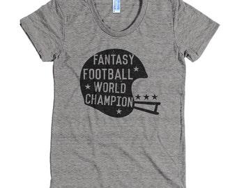 Fantasy Football World Champion Women's T-Shirt