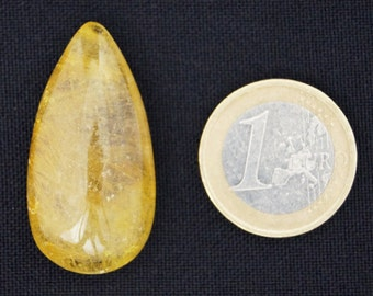 Beautiful, Golden Rutile Quartz cabochon stone (EA710)