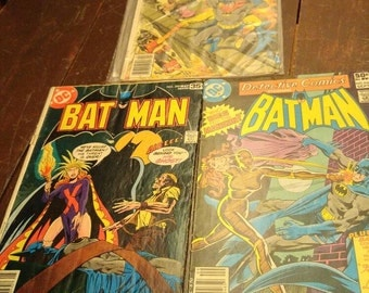 BATMAN ( D.C.) ( LOT of 3)