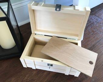 Keepsake Box - Child's Keepsake Chest, Toy Trunk, Wooden Chest, Nursery Storage