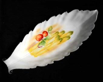 Noritake Asparagus serving Tray Vintage