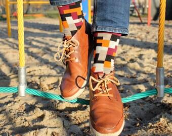 Tetris Socks