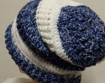 Slouchy hat, warm and soft!
