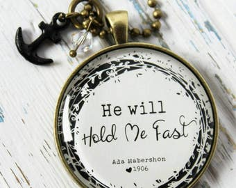 Hold me fast - Anchor - Christ alone- hymn