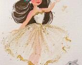 Inspired Easter Ballerina Fine Art Print