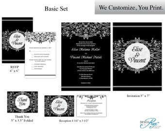 Wedding Invitation Printable Template