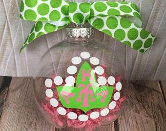 AKA Alpha Kappa Alpha Christmas Ornament/Ball