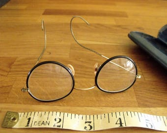 Rayners vintage Childs Glasses plus case