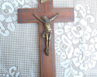 Vintage French Crucifix (C1)