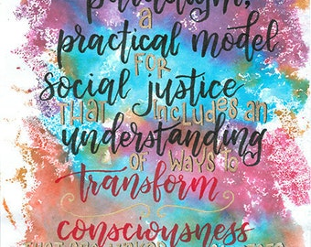 Bell Hooks Quote: transform consciousness
