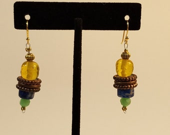 Earrings - Inca  Bling  -  EG003