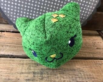 cactus kawaii cat, Cat lover gift, Kawaii cat plushie, soft cat plush, kawaii cactus cat, cactus decor, cactus cat lady gifts, cat plushie