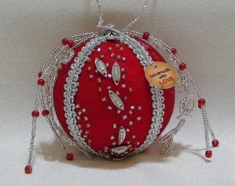 Shabby Chic Christmas Ball 31