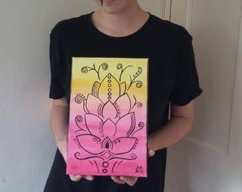 Sunset Flower - LAC Art