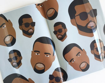 RAPPING PAPER, Kanye West Wrapping Paper (Yeezy, Yeezus, Funny Cards, Kanye Funny Card, XMAS Wrapping Paper, Birthday Wrapping Paper)