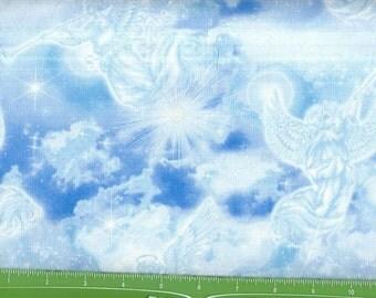 Heaven Sent,Awesome blue/white Angel/trumpets,Kansas Studio